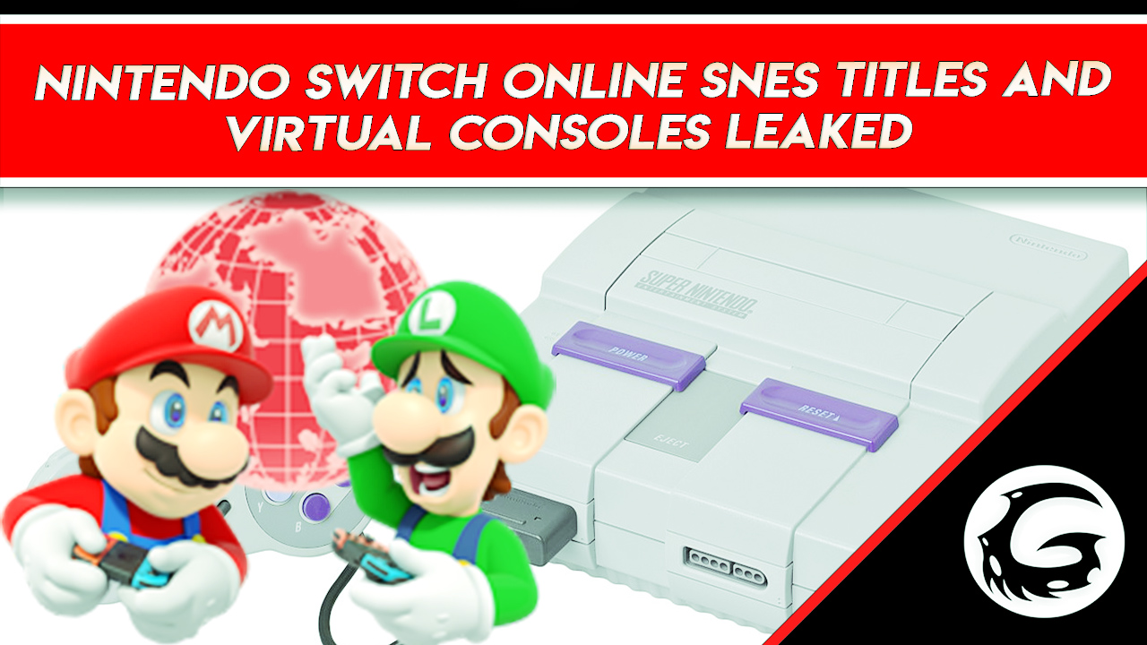 Leaked: Nintendo Switch Online Upcoming SNES Titles   Gaming