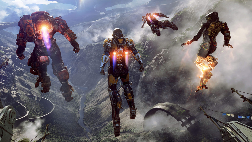Anthem's World is Genuinely Beautiful.