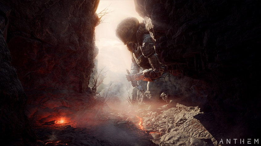 It has to be noted that Anthem's world is stunning