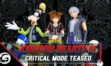 Kingdom Hearts III's Director Teases Critical Mode