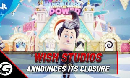 Wish Studios Announces Studio Closure