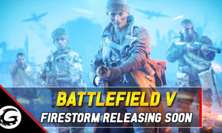 Battlefield V's Battle Royale Mode 'Firestorm' Arriving March 25