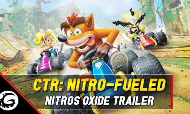 Crash Team Racing: Nitro-Fueled – Nitros Oxide Revealed In New Trailer