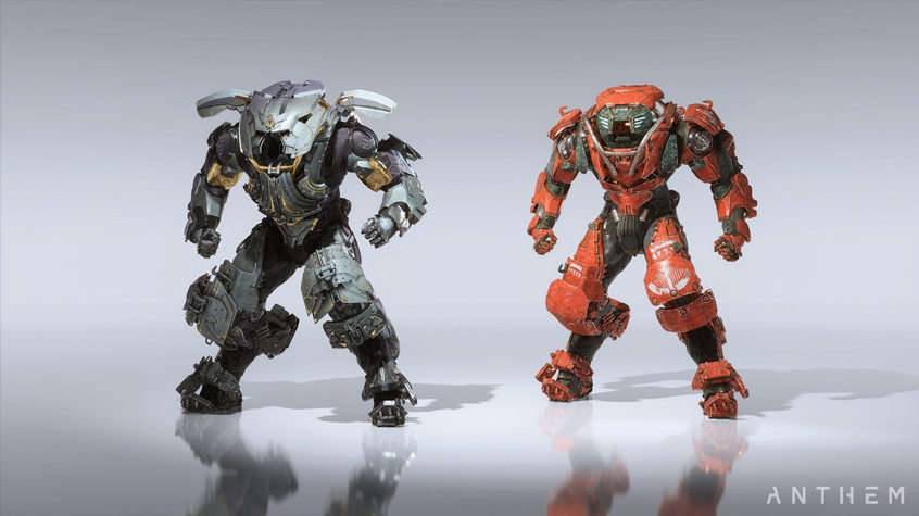 The Colossus is Anthem's biggest Javelin.