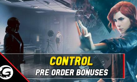 Pre-Order Bonuses Detailed For Control