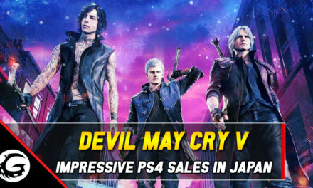Capcom's Devil May Cry V Has Sold Most Of Its Initial Japanese Shipment For PS4