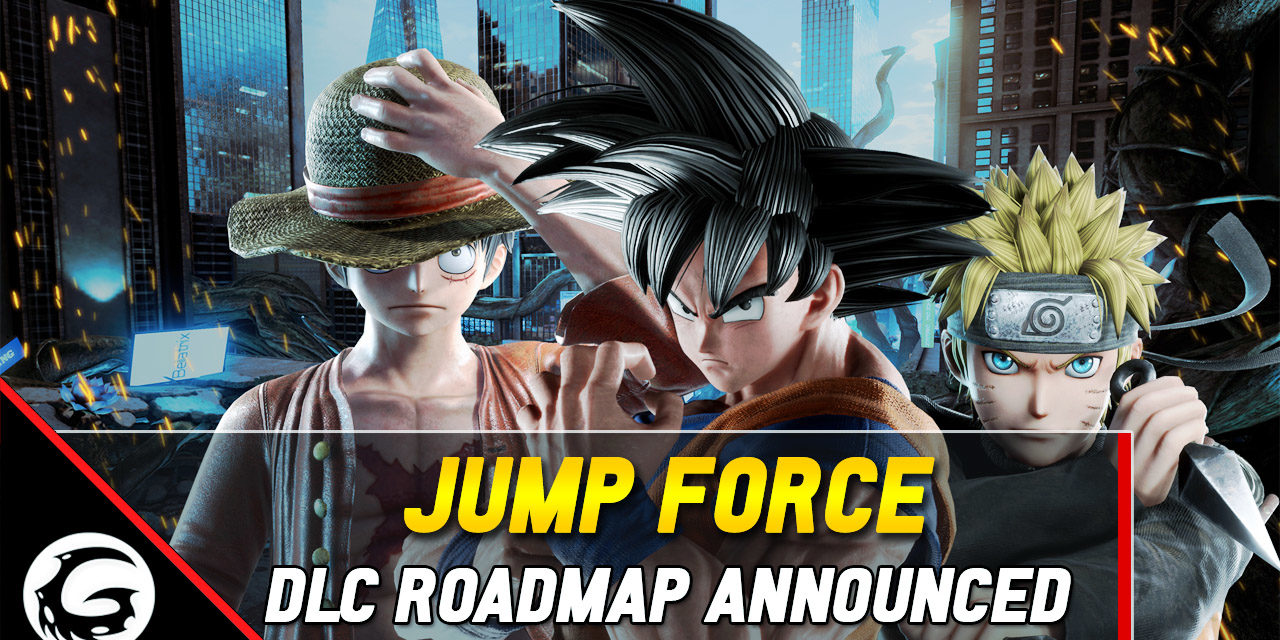 Jump Force DLC Characters And Future Roadmap Announced