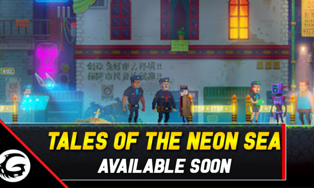 Kickstarter Success Tales Of The Neon Sea Coming Soon