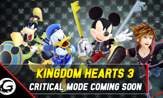 Tougher Difficulty 'Critical Mode' Arriving On Kingdom Hearts 3 Soon