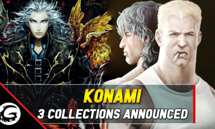 3 Konami Anniversary Collections Announced