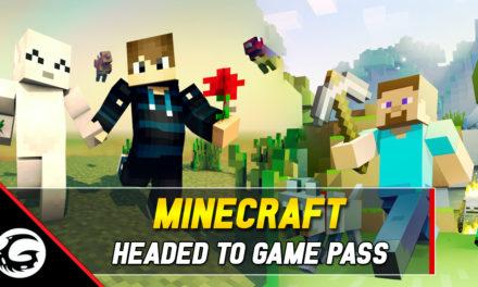 Xbox Game Pass To Receive Minecraft Next Month