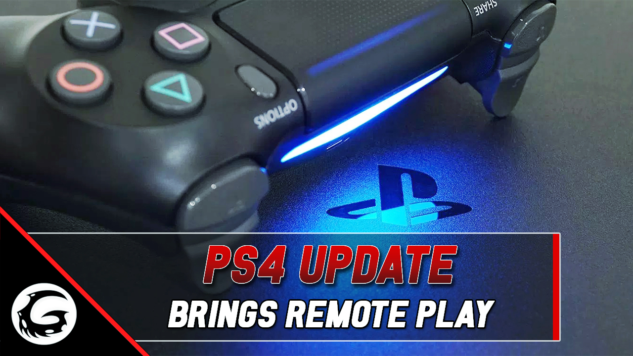 This PS4 Update Will Let You Play Remotely on Your