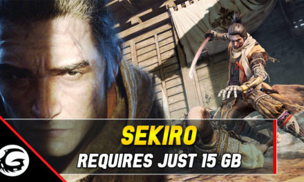Sekiro: Shadows Die Twice Needs Just 13 GB of Free Space on Xbox One