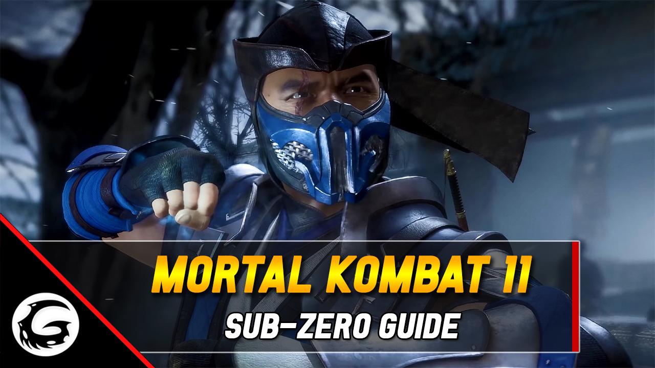 mortal kombat 11 sub zero moves