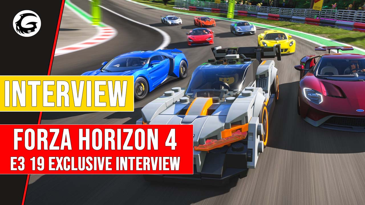 Forza Horizon 4 - E3 2019 Exclusive Interview with | Gaming