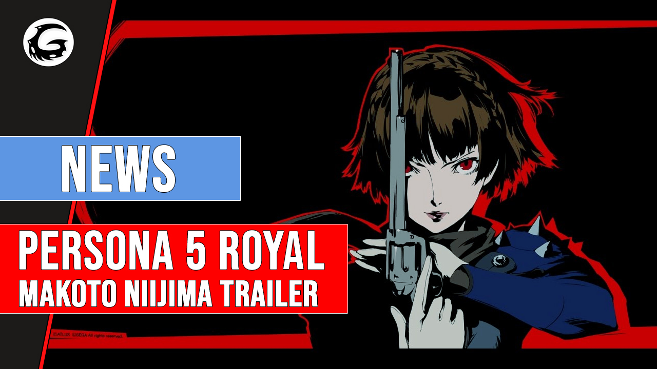 Makoto Shown Off in New Persona 5 Royal Trailer   Gaming